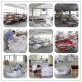 Badezimmer-materielle freistehende acrylsauerbadewanne, Hydromassage spritzt (BT-A1009)