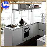 Mobilia impermeabile lucida della cucina del MDF con gli accessori del cestino