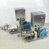 Gesundheitliche Edelstahl-Zwilling-Schrauben-Pumpe