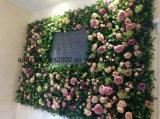 새로운 디자인 인공적인 플랜트 벽 꽃 벽 덮개 훈장