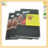 安いカスタムハードカバーのノートの印刷