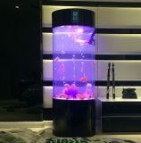 Circular Acrylic Aquarium Fish Tank