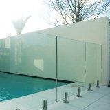 Espita del acero inoxidable para la cerca de la piscina de Frameless