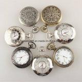 Relojes Pocket de la aleación del OEM de la fábrica del reloj de China