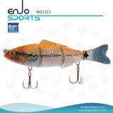 Приманки прикормом рыболовства рыболова отборная Multi соединенная снасть Life-Like басовой отмелая удя (MS1311)