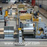 Ligne de machine de découpage de bobine de tôle d'acier
