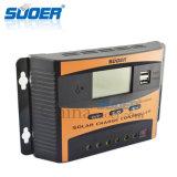 Do Ce inteligente do controlador de sistema solar 12V do controlador de Suoer controlador solar do carregador de RoHS PWM 40A (ST-C1240)