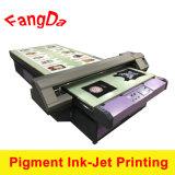 顔料インク直接プリントが付いているTシャツの部分の印字機