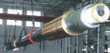 Eje de propulsor de acero forjado de marina/eje de la nave/eje del barco de la cola larga