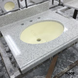 La superficie sólida de una pieza para cuartos de baño Cuarto de baño para cuartos de baño