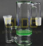 Gldg Bienenwabe-Perc farbiges Aschen-Fangfederblech für Glaswasser-Rohr