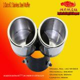 No. di modello AC-M-003 1 sul silenziatore dell'acciaio inossidabile 2