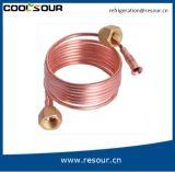 Coolsour Qualitäts-Kupfer-haarartiges Gefäß für Klimaanlage