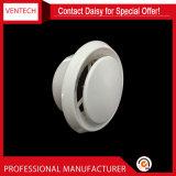 Soupape à disque en plastique de couleur de diffuseur circulaire blanc de plafond