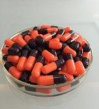 أحمر أسود لون جيلاتين يخلو كبسولة يستعمل جانبا صالح للأكل جيلاتين حجم 1