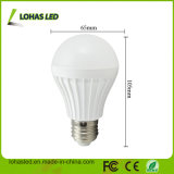 Do Ce plástico da luz de bulbo do diodo emissor de luz do fornecedor de China bulbo 2017 energy-saving do diodo emissor de luz do poder superior E27 7W SMD5730 da luz de bulbo do diodo emissor de luz de RoHS