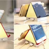 Luz de la noche de la lámpara de vector del escritorio de la casa LED con el soporte del teléfono del cargador del USB de 4 accesos
