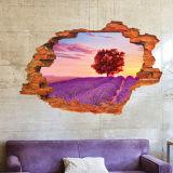 Sticker mural amovible 3D