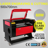 machine de /Cutting de graveur/gravure de laser de tube de laser du CO2 60W