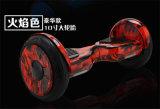 2017 UL2272 10 Bluetooth、LEDおよびSamsung電池ODM/OEM Smartmeyの製造業者が付いている電気スクーターのバランスをとっているインチのFlammate 2の車輪のRubbeのタイヤの自己