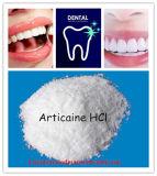 Промежуточное звено местного наркозного хлоргидрата Articaine фармацевтическое для зубоврачебного местного анестетика