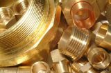 Guarniciones de cobre amarillo de la alta calidad con la rosca de tornillo externa (YD-6004)