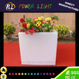 Couleur décorative de meubles de jardin changeant le Flowerpot de DEL