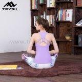 Цветастые напечатанные кальсоны самой последней пригодности женщин Legging йоги способа длинние