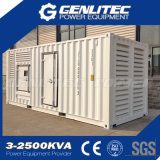 20FT ISO Containerized Cummins 디젤 엔진 발전기 1 MW