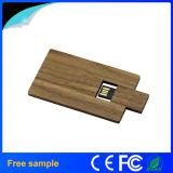 2016 Großverkauf-hölzernes Visitenkarte USB-Blitz-Bambuslaufwerk 8GB