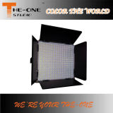 luz del panel video del equipo LED del estudio de 896PCS TV