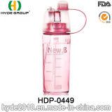 2017 Travel BPA Free Plastic Sport Water Garrafa, Bicicleta Plastic Sport Bottle (HDP-0449)