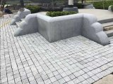 屋外及び外部領域のための普及した中国の花こう岩の敷石