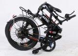 Myatu pliant la bicyclette électrique de Sytle avec la batterie dans le bâti