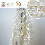 민감한 3D 레이스 직물 자수, 결혼식 C10026를 위해 좋은 최고 인기 상품 여자 의복