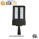 최신 판매 200W LED 가로등, LED Shoebox 의 정착물 개장 장비 빛