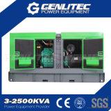 Générateur diesel silencieux de Cummins Engine 6CTA8.3-G2 120kw 150kVA