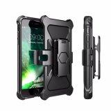 Cubierta de parachoques del nuevo del desbloquear del iPhone 7 del transformador caso combinado de Kickstand