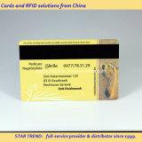 Gesundheits-Verein-Karte gebildet von Kurbelgehäuse-Belüftung mit magnetischem Streifen (ISO 7811)