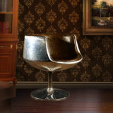 Nordischer einfacher Aluminiumcup-Stuhl-kreativer Stuhl-Kaffee-Stuhl, der Stuhl speist