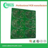 4 зеленого слоя PCB золота погружения печатной краски