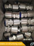 Instalación de tuberías de una sola pieza de Parker del manguito hidráulico chino de la fábrica