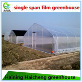 Дом стальной прочной пленки горячего DIP гальванизированная зеленая для огурца