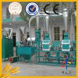 Moinho da grão da configuração do baixo custo e máquina da farinha do milho