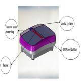 Placa delgada de la vibración del masaje loco fácil estupendo del ajuste de la talladora de la carrocería
