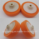 سلع معمّرة مصنوع من الجلد عجلة إسفنجة عجلة يصقل أسطوانة حاكّ مع بلاستيك