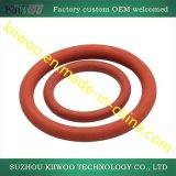 Joint circulaire clair coloré durable de silicones