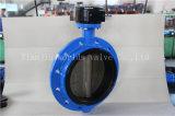 Válvula de borboleta de Monoflange da roda do punho do ferro de molde de ISO5752 Series16 (D41X-10/16)