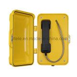 Telefone sem fio da linha de apoio a o cliente, telefones Emergency do túnel, telefone à prova de intempéries do SIP