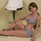 bambola giapponese del sesso del silicone della ragazza della pelle di 148cm Brown per trasporto di goccia degli uomini